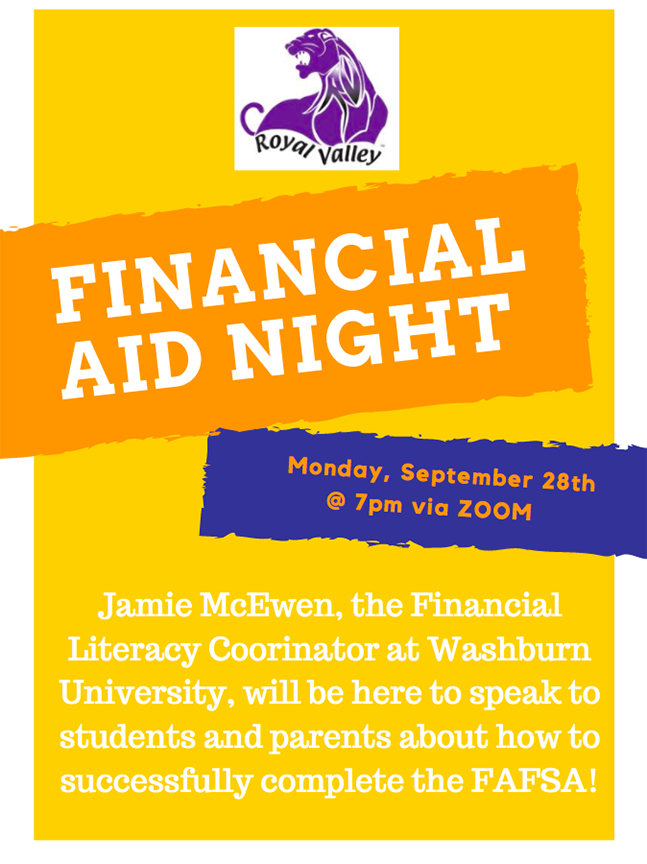 Financial Aid night flier