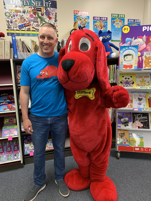 Mr. Slay and Clifford