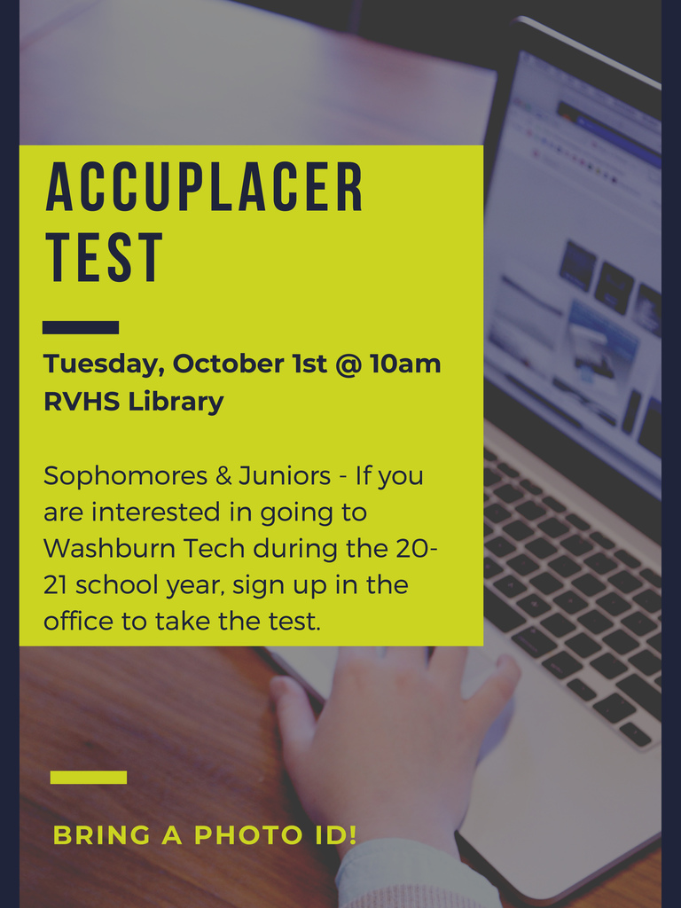 Accuplacer test flier