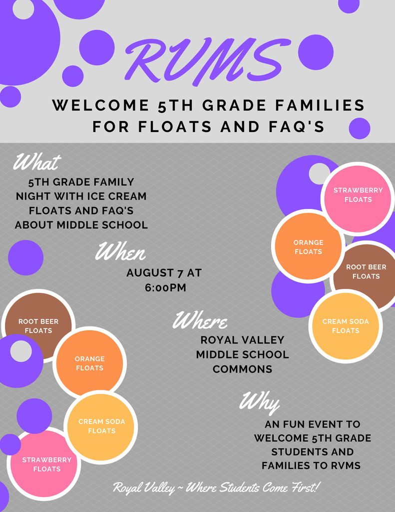 5th grade float night