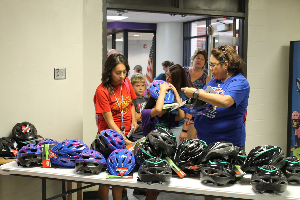 Safe Kids bike helmet give-away!