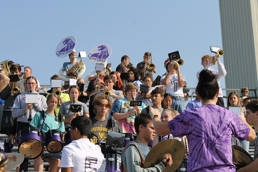 RVHS pep band