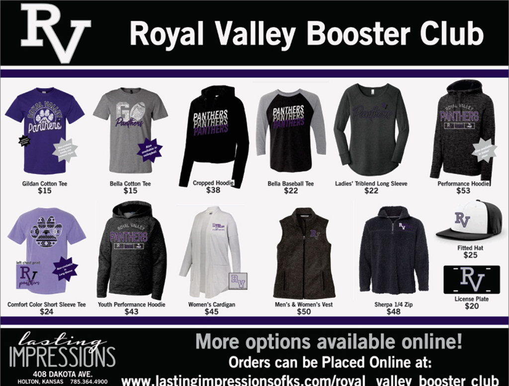 Booster clothing options