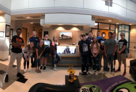 RVHS students at KTWU