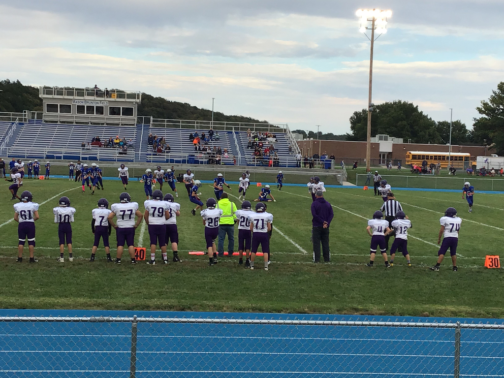 RVMS football vs Perry