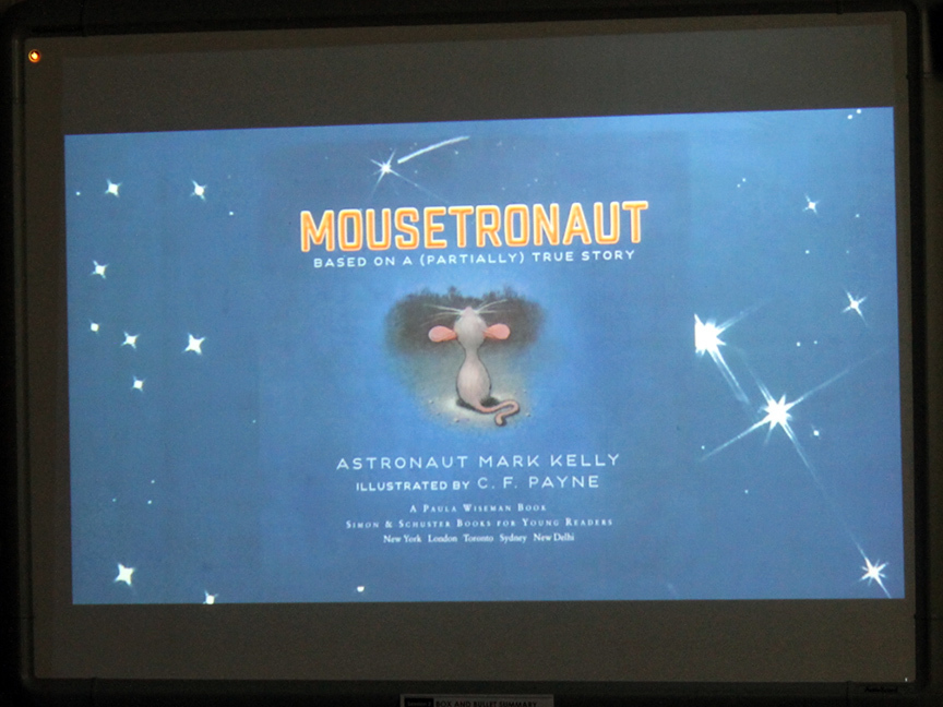 Mousetronaut book cover