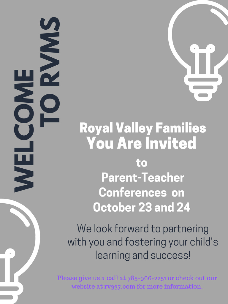 Parent-Teacher conferences flier