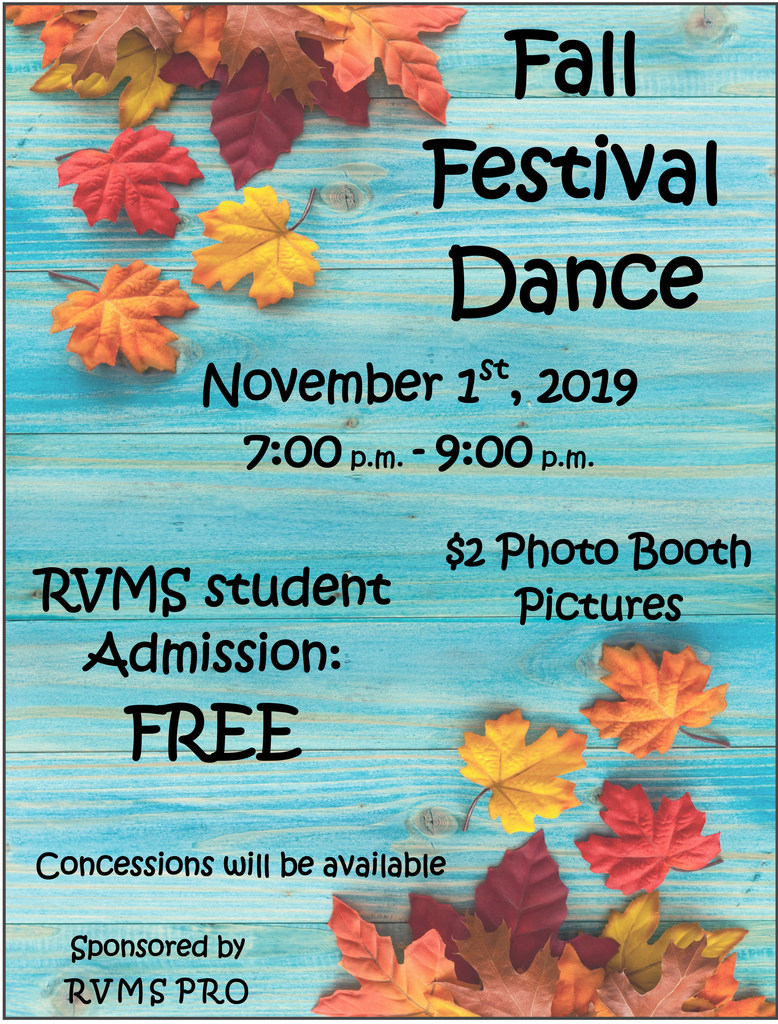 Fall Dance flier