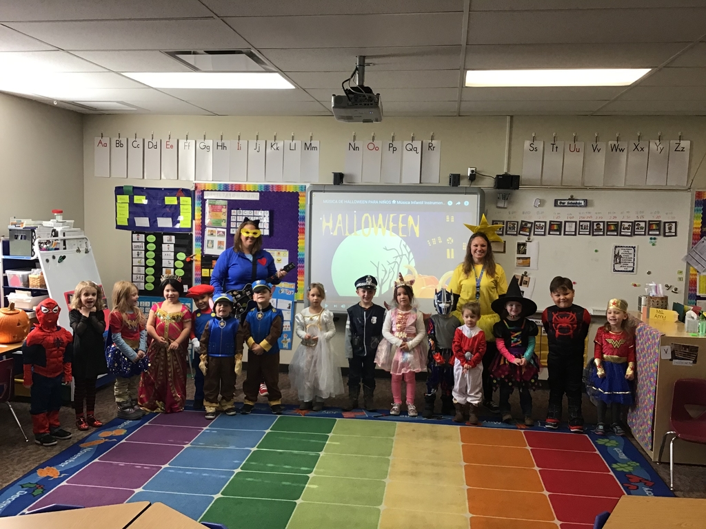 Happy Halloween from the Little Panthers!
