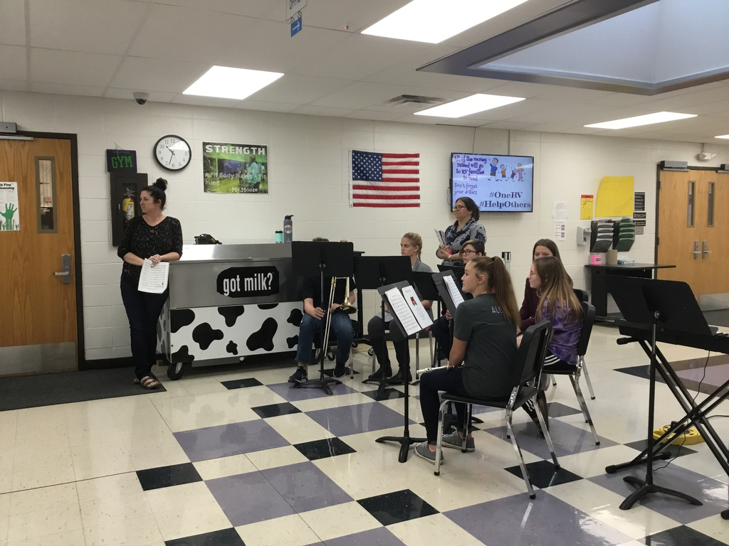 RVMS band ensemble.