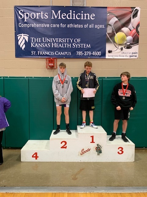 Quinton 2nd place