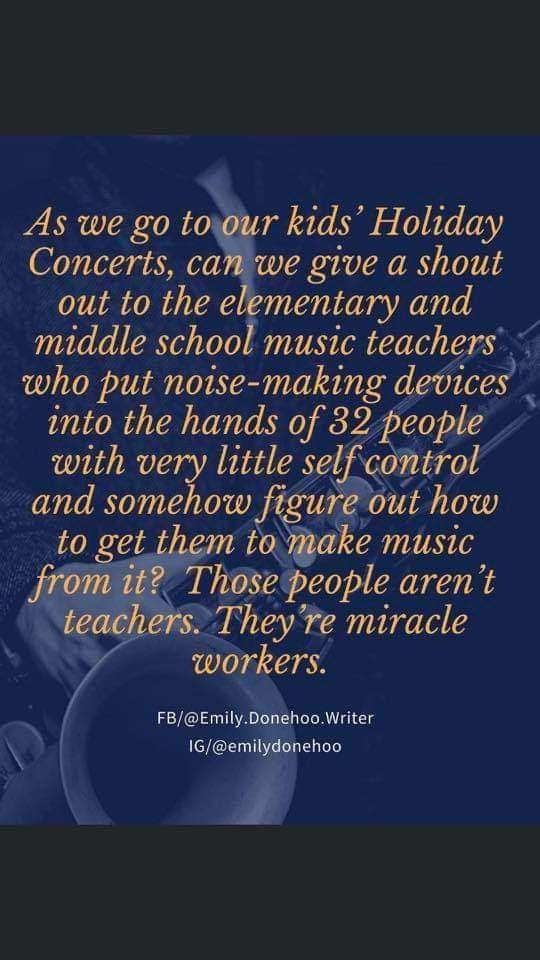 Music teachers