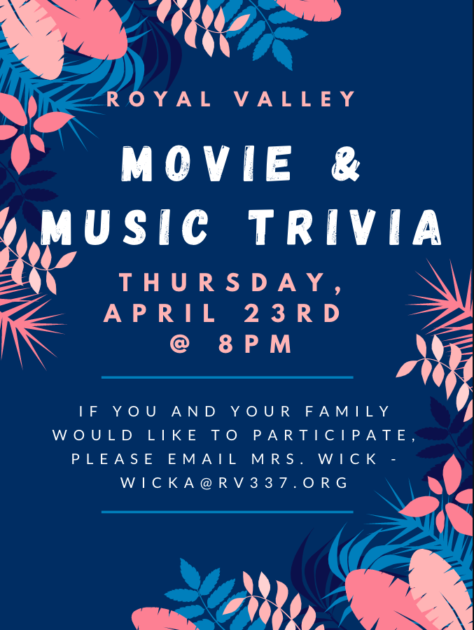 Movie and music trivia night