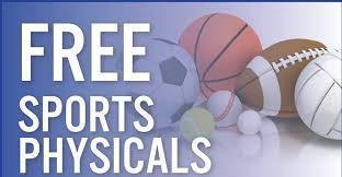 free sports physicals gif