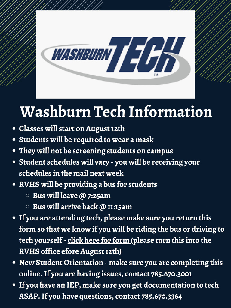 Washburn Tech info