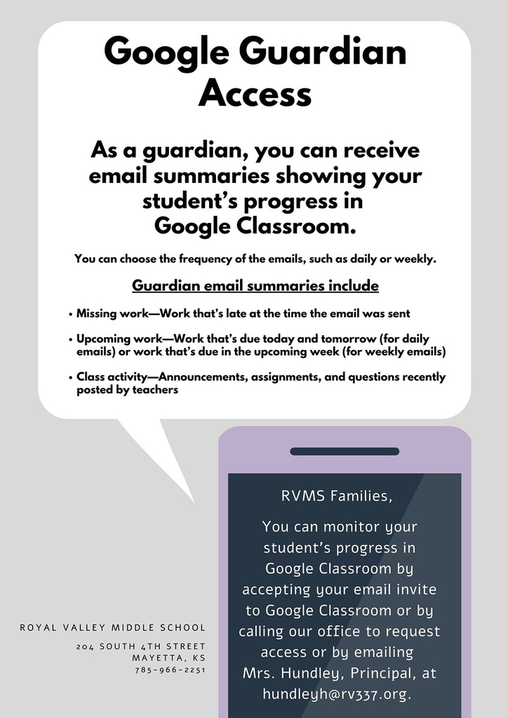 Google Guardian Access flier